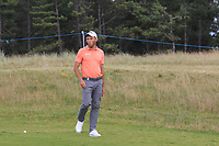 Maximilian Kieffer (GER) on the 5th during Round 1 of the Aberdeen Standard Investments Scottish Open 2019 at The Renaissance Club, North Berwick, Scotland on Thursday 11th July 2019.<br /> Picture:  Thos Caffrey / Golffile<br /> <br /> All photos usage must carry mandatory copyright credit (© Golffile | Thos Caffrey)