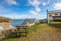 BNPS.co.uk (01202 558833)<br /> Pic: March&Petit/BNPS<br /> <br /> Spectacular views from the comfort of your own garden. <br /> <br /> A charming clifftop cottage which offers breathtaking views of the English channel has emerged on the market for £450,000.<br /> <br /> Mildmay Cottage, in the fishing village of North Hallsands, Devon, backs on to the scenic South West Coastal Path.<br /> <br /> The front door of the three bedroom early 20th century former fisherman's property is just 4ft from the cliff edge.<br /> <br /> It looks out over Start Bay with its historic early 19th century lighthouse and the spectacular Dartmouth headland.<br /> <br /> The home is for sale with estate agent Marchard Petit who say the area is celebrated for its numerous unspoilt coves and beaches.