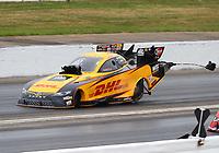 May 5, 2018; Commerce, GA, USA; NHRA funny car driver J.R. Todd during qualifying for the Southern Nationals at Atlanta Dragway. Mandatory Credit: Mark J. Rebilas-USA TODAY Sports
