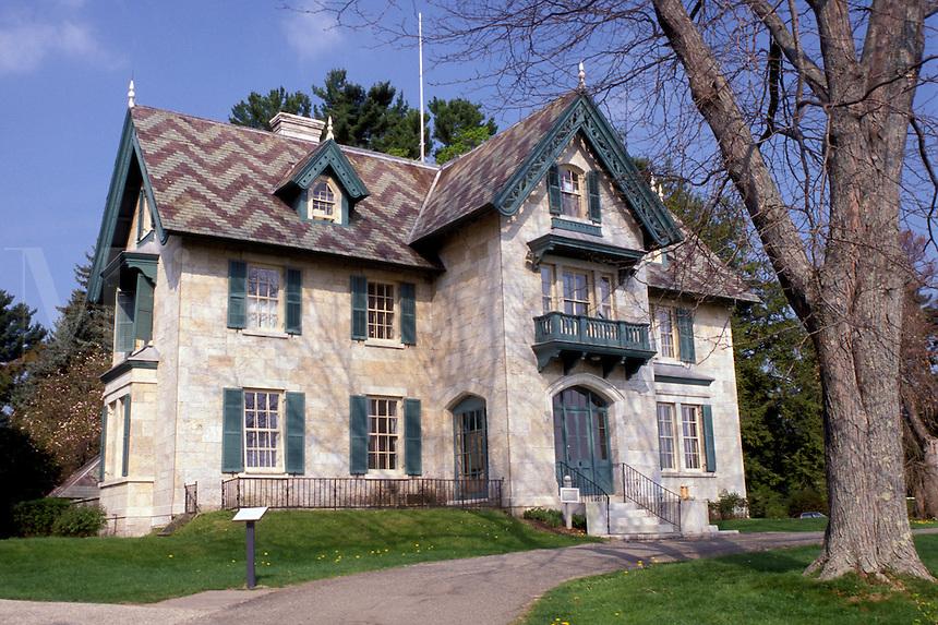 Norman Rockwell, Stockbridge, Massachusetts, The Berkshires, The Norman Rockwell Museum at Stockbridge in the spring.