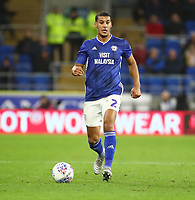 26th November 2019; Cardiff City Stadium, Cardiff, Glamorgan, Wales; English Championship Football, Cardiff City versus Stoke City; Lee Peltier of Cardiff City - Strictly Editorial Use Only. No use with unauthorized audio, video, data, fixture lists, club/league logos or 'live' services. Online in-match use limited to 120 images, no video emulation. No use in betting, games or single club/league/player publications