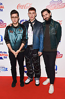 LONDON, UK. December 09, 2018: Years and Years at Capital&rsquo;s Jingle Bell Ball 2018 with Coca-Cola, O2 Arena, London.<br /> Picture: Steve Vas/Featureflash