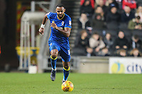 Liam Trotter of AFC Wimbledon during the Sky Bet League 1 match between MK Dons and AFC Wimbledon at stadium:mk, Milton Keynes, England on 13 January 2018. Photo by David Horn.