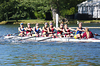 Race: 1  Event: Aspirational Academic 8+<br /> Crew: 2  Club: Bath Univ/ Bristol Univ (A)<br /> <br /> Henley Women's Regatta 2018<br /> Friday<br /> <br /> To purchase this photo, or to see pricing information for Prints and Downloads, click the blue 'Add to Cart' button at the top-right of the page.