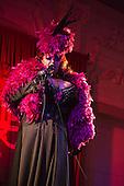 Friday, 10 May 2013, London, UK. Pictured: Presenter Dolly Rocket. Opening Gala of Chaz Royal's London Burlesque Festival 2013, running from 10 to 19 May 2013, Bush Hall, Shepherd's Bush, London.