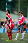 Shandong vs Natixis HKFC during the 2015 GFI HKFC Tens at the Hong Kong Football Club on 26 March 2015 in Hong Kong, China. Photo by Xaume Olleros / Power Sport Images