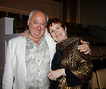 """Roy Steinberg (director of theater and dir. and producer of Guiding Light, All My Children, and was """"Dr. Longo"""" on Another World poses with his wife Marlena Lustig on opening night June 18, 2015 at Cape May Stage (Robert Shackleton Playhouse) in Cape May, New Jersey.  (Photos by Sue Coflin/Max Photos)"""