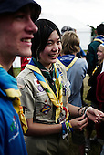 World Scout Jamboree 2007, mångkulturel interaktion, scoutskjortor, läger, folk