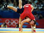 Olympic Games 2012; Wrestling Men's Greco-Roman 66kg. ExCel - North Arena 2..Tamas Lorincz (HUN) - M.Tskhadaia (GEO).