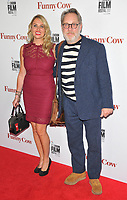Nancy Sorrell and Jim Moir ( aka Vic Reeves ) at the &quot;Funny Cow&quot; 61st BFI LFF Laugh screening, Vue West End, Leicester Square, London, England, UK, on Monday 09 October 2017.<br /> CAP/CAN<br /> &copy;CAN/Capital Pictures