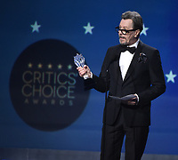 SANTA MONICA, CA - JANUARY 11: Gary Oldman accepts Best Actor for 'Darkest Hour' at the 23rd Annual Critics' Choice Movie Awards at Barker Hangar on January 11, 2018 in Santa Monica, California. (Photo by Frank Micelotta/PictureGroup)