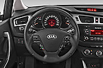 Car pictures of steering wheel view of a 2014 KIA cee'd Access 5 Door Wagon 2WD Steering Wheel