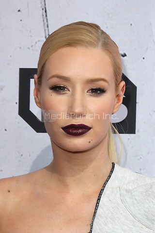 INGLEWOOD, CA - APRIL 3: Iggy Azalea at the iHeartRadio Music Awards at The Forum on April 3, 2016 in Inglewood, California. Credit: David Edwards/MediaPunch