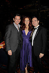 Heather Parcells & Guiding Light's Sean McDermott with Benjamin Rauhala  - The Jane Elissa Extravaganza 2014 - 19 years on November 17, 2014 which benefits the Jane Elissa/Charlotte Meyer Endowment Fund which raises revenue that directly supports the research programs of the Leukemia/Lymphoma Society. The grant goes to an individual researcher.  (Photo by Sue Coflin/Max Photos)