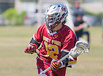 Corona Del Mar, CA 04/02/16 - Shayne Grant (Torrey Pines #12) in action during the non-conference game between the Nike/LM High School Boys' National Western Region #4 Torrey Pines (#4) and #5 Corona Del Mar.  Torrey Pines defeated Corona Del Mar 9-8 in overtime.