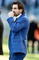 William Viali, Novara coach.<br /> Roma 12-01-2019 Stadio Olimpico<br /> Football Calcio Coppa Italia 2018/2019, Ottavi. <br /> Lazio - Novara<br /> Foto Antonietta Baldassarre / Insidefoto