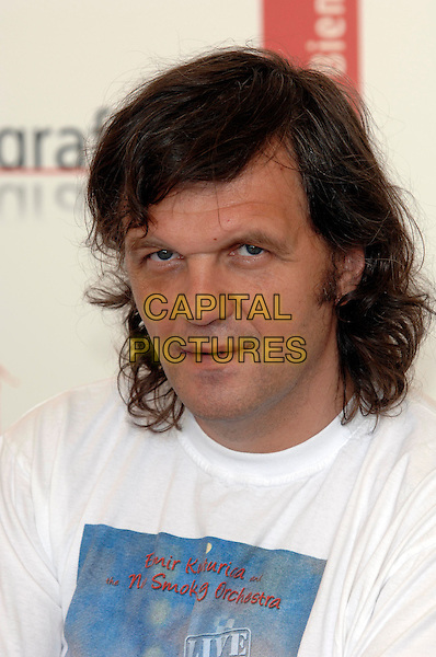 "EMIR KUSTURICA.of Bosnia Herzegovina.with other seven various directors is in Venice to present their out of competition movie "" All the invisible children"".La Biennale, Venezia.62nd Venice Film Festival, Italy.Ref: PL.portrait headshot.www.capitalpictures.com.sales@capitalpictures.com.©Capital Pictures."