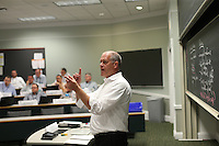 Executive Education class at the darden School of Business at the University of Virginia in Charlottesville, Va.  Photo/Andrew Shurtleff