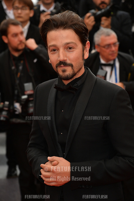 "CANNES, FRANCE. May 20, 2019: Gael Garcia Bernal at the gala premiere for ""La Belle Epoque"" at the Festival de Cannes.<br /> Picture: Paul Smith / Featureflash"