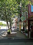 Street scene along upper Thames St  in Newport, RI (Photo/Joe Giblin) no release