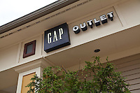 A GAP Outlet store is pictured at the Settlers' Green Outlet Village in North Conway, New Hampshire Thursday June 13, 2013.