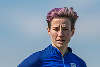 Megan Rapinoe #15 of the United States watches her teammates