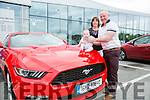 l-r  Aidan Lenihan, John Lenihan and Linda Lenihan from Castlemaine.  at the Kerry Motor Works Open Day on Saturday