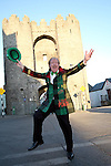 Frank Godfrey of the St. Patricks Day Parade Committee promoting the Parade...Photo NEWSFILE/Jenny Matthews.(Photo credit should read Jenny Matthews/NEWSFILE)....This Picture has been sent you under the condtions enclosed by:.Newsfile Ltd..The Studio,.Millmount Abbey,.Drogheda,.Co Meath..Ireland..Tel: +353(0)41-9871240.Fax: +353(0)41-9871260.GSM: +353(0)86-2500958.email: pictures@newsfile.ie.www.newsfile.ie.FTP: 193.120.102.198.