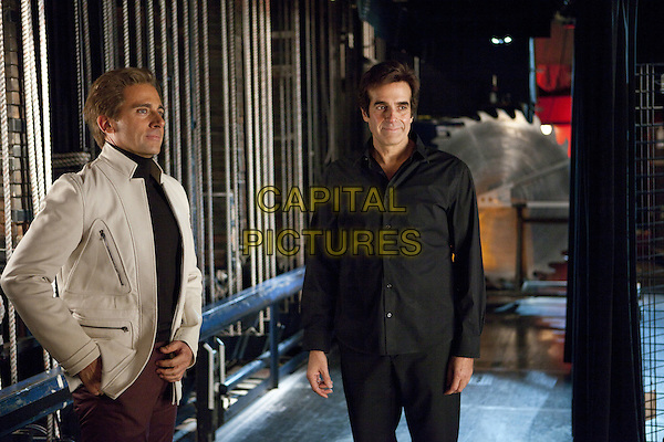 STEVE CARELL & DAVID COPPERFIELD.in The Incredible Burt Wonderstone (2013) .*Filmstill - Editorial Use Only*.CAP/FB.Supplied by Capital Pictures.