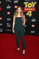 "HOLLYWOOD, CA - JUNE 11: Allison Holker, at The Premiere Of Disney And Pixar's ""Toy Story 4"" at El Capitan theatre in Hollywood, California on June 11, 2019. <br /> CAP/MPIFS<br /> ©MPIFS/Capital Pictures"