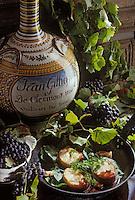 """Europe/France/Auvergne/63/Puy-de-Dôme/Clermont-Ferrand: Tournedos de sandre à la moelle et au chanturgue - Recette de J. C. Gérard du restaurant """"Le Clave"""""""