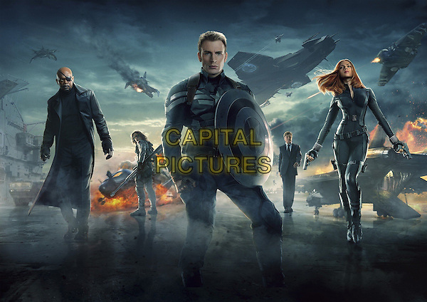 POSTER ART<br /> in Captain America: The Winter Soldier (2014) <br /> *Filmstill - Editorial Use Only*<br /> CAP/FB<br /> Image supplied by Capital Pictures