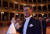 0802020475a Dress rehearsal of the 13th Budapest Opera Ball held at Opera House involving 50 couples of debutantes performing the opening waltz. Budapest, Hungary. Saturday, 02. February 2008. ATTILA VOLGYI