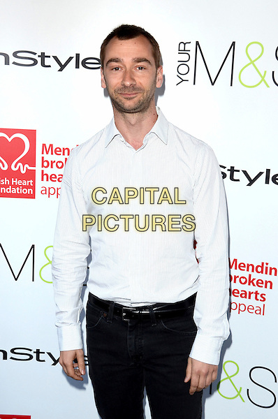 Charlie Condou.Tunnel of Love Fundraiser in aid of The British Heart Foundation at Proud Camden, London, England..May 29th 2012.half length black trousers white shirt stubble facial hair .CAP/ROS.©Steve Ross/Capital Pictures