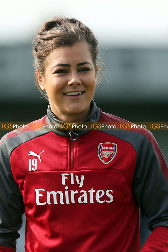 Jemma Rose of Arsenal women during Arsenal Women vs Birmingham City Ladies, FA Women's Super League FA WSL1 Football at Meadow Park on 24th September 2017