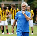 Nederland, Papendal, 1 juli 2012.Seizoen 2012-2013.Eerste training Vitesse .Fred Rutten, de nieuwe trainer-coach van Vitesse op het trainingsveld van Vitesse