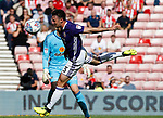Enda Stevens of Sheffield Utd  goes close to scoring during the Championship match at the Stadium of Light, Sunderland. Picture date 9th September 2017. Picture credit should read: Simon Bellis/Sportimage