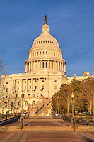 US Capitol Building Washington DC - Washington DC Stock Photography<br /> The United States Capitol Building is located on Capitol Hill at the east end of the National Mall in Washington DC.  The US Capitol is among the most symbollically important and architecturally impressive buildings in the United States. It has housed the meeting chambers of the US House of Representatives and US Senate for two centuries.  An example of 19 century neo-claccical architecture.  Architectural details include columns, porticos, arches, steps, the US Capitol dome and rotunda.  A washington D.C. landmark and national icon it is a popular tourist attraction and travel destination in Washington DC.<br /> <br /> All images on this site copyright Randy Santos 2007 - 2010<br /> No unauthorized use of any image without written permission<br /> <br /> http://www.dcstockphotos.com<br /> http://www.dcstockimages.com<br /> <br /> All images are very high quality image files available for license in various media.  Please contact for license or visit:<br /> <br /> http://www.dcstockphotos.com<br /> http://www.randysantosphoto.com<br /> http://www.randysantos.blogspot.com