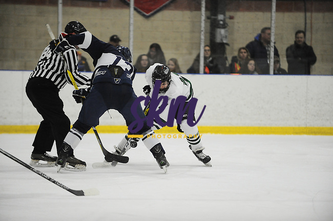 Stevenson men's ice hockey closes out the home season with 0-2 shut out over Lebanon Valley on Friday night at Reisterstown Sportsplex.