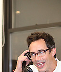 Tom Cavanagh in rehearsal for 'Freud's Last Session'. Judd Hirsch as Sigmund Freud and Tom Cavanagh as C. S. Lewis under the direction of Tyler Marchant at the Davenport Studios in New York City on December 17, 2012