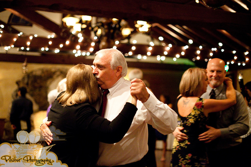 During the wedding of Shelby Wheeler and John Mack on Saturday November 7, 2009 at the Historic Dubsdread Ballroom in College Park in Orlando. She started at Essence Salon & Day Spa and then had the ceremony at Sts. Peter & Paul Catholic Church in Winter Park and then moved to the reception at the Historic Dubsdread Ballroom in College Park in Orlando. (Chad Pilster, http://www.PilsterPhotography.net)