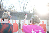 Teachers and staff of Clifton Independent School District in Clifton, Texas take the Concealed Handgun Permit training from Big Iron. Big Iron is owned and operated by Johnny Price. February 7, 2013. CREDIT: Lance Rosenfield/Prime