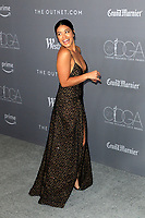 LOS ANGELES - FEB 20:  Gina Rodriguez at the 20th Costume Designers Guild Awards at the Beverly Hilton Hotel on February 20, 2018 in Beverly Hills, CA