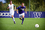 Michael Harris - UW mens soccer vs UAB.  Photo by Rob Sumner / Red Box Pictures.