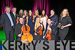 Performing at Siamsa Tire gala concert on Saturday evening were Front  l-r: Steven O'Halloran, Dovile Baltoniene, Lucy Tanner Back from left: Aidan O'Carroll, Kenneth Rice, Gearoid Ó Duinnin, Naoimi, Fiona and Evangeline O'Neill with Caitriona O'Sullivan, Miriam Murphy and Niamh Ní Charra.