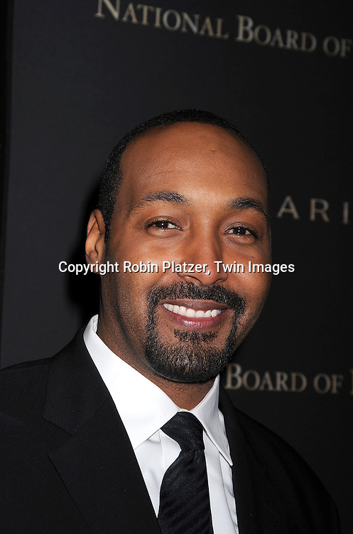 Jesse L Martin.posing for photographers at The 2007 National Board of Review of Motion Pictures Awards Gala presented by Bulgari on January 15, 2008 at Cipriani's 42nd Street. .Robin Platzer, Twin Images