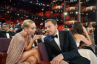 Brie Larson and Leonardo DiCaprio during the live ABC telecast of the 92nd Oscars® at the Dolby® Theatre in Hollywood, CA on Sunday, February 9th, 2020.                        <br /> *Editorial Use Only*<br /> CAP/AMPAS<br /> Supplied by Capital Pictures