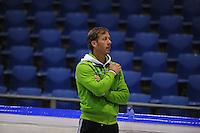 SCHAATSEN: HEERENVEEN: Thialf, 25-06-2012, Zomerijs, TVM schaatsploeg, assistent-trainer Rutger Tijssen, ©foto Martin de Jong