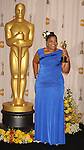 HOLLYWOOD, CA. - March 07: Actress Monique  poses in the press room at the 82nd Annual Academy Awards held at the Kodak Theatre on March 7, 2010 in Hollywood, California.