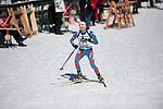 MARTELL-VAL MARTELLO, ITALY - FEBRUARY 03: HAKALA Matti (FIN) during the Men 12.5 km Pursuit at the IBU Cup Biathlon 6 on February 03, 2013 in Martell-Val Martello, Italy. (Photo by Dirk Markgraf)